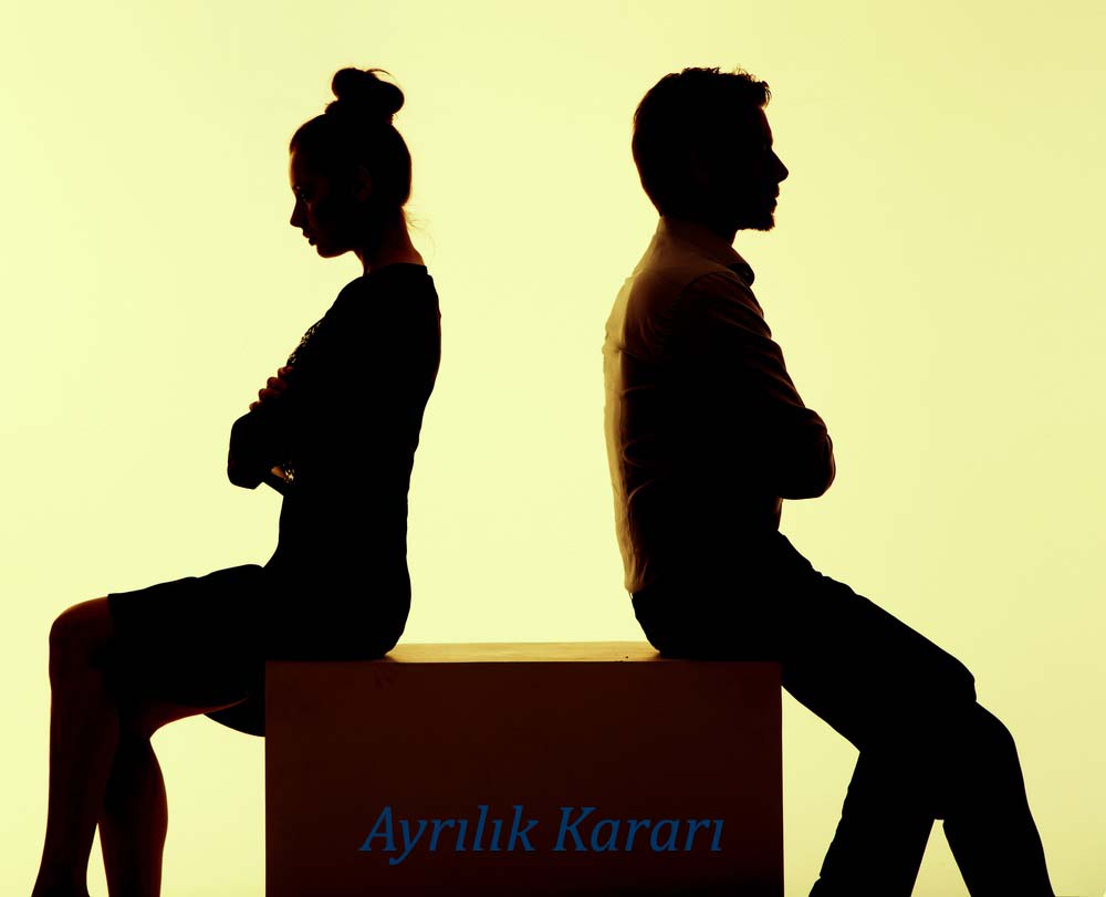 How to get a separation decision in divorce case